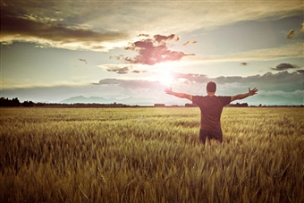 Thankfulness - sunset